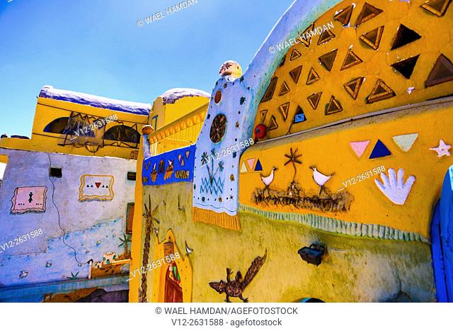 Nubian house decoration