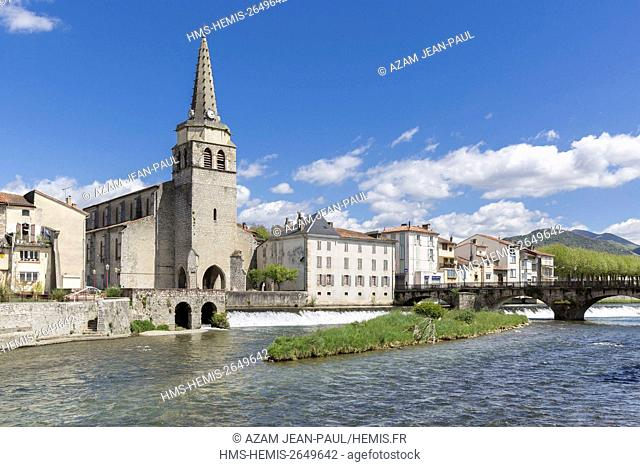 France, Ariege, Saint Girons, Couserans, Pyrenees