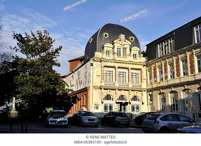 France, Doubs, Besancon, the historic center, the Kursaal