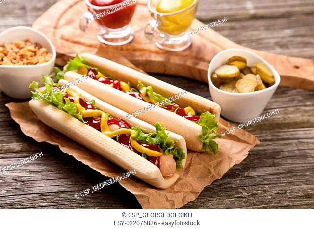 Hot dogs
