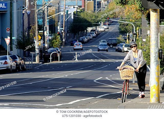 Street scene, Collingwood, Melbourne, Australia