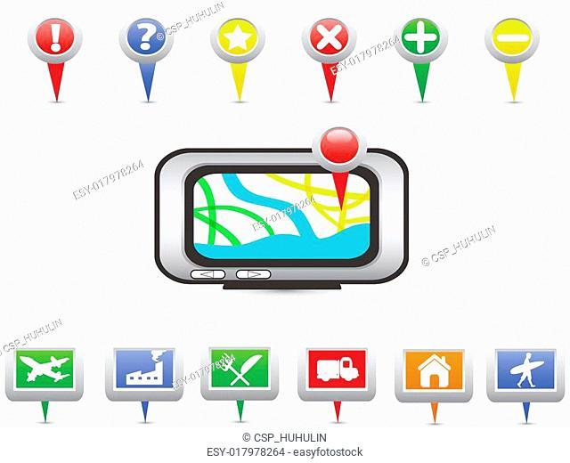 GPS and Navigation icons