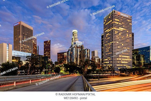 Downtown Los Angeles, California, USA