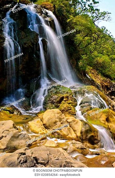 Cat Cat waterfall in Sapa, Vietnam
