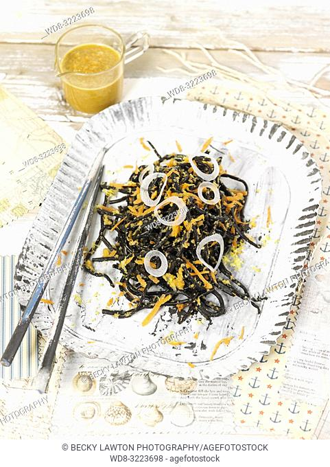 ensalada de hiziki / hiziki salad