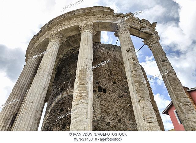 Temple of Vesta, Tivoli, Lazio, Italy