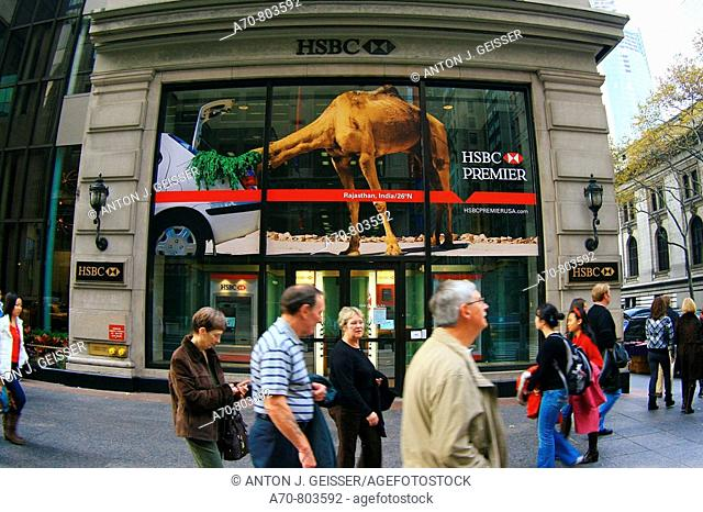 Hsbc bank new york city Stock Photos and Images | age fotostock