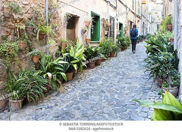 Street of Valldemossa, Majorca, Spain