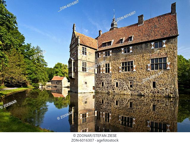 Castle Vischering, Luedinghausen, Germany