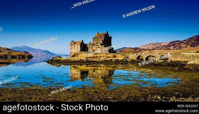 Eilean Donan Castle on Loch Duich, Scotland
