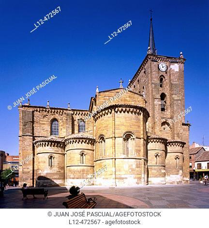St. Mary's church, Benavente. Zamora province, Castilla-León, Spain