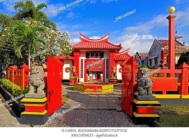 The Chinese Temple, Ling Gwan Kiong, Singaraja, north Bali, Indonesia