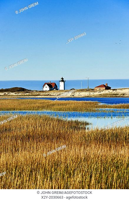 Race Point lighthouse, Provincetown, Cape Cod, Massachusetts, USA.	1015
