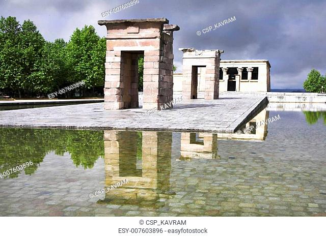 The Egyptian temple Debod