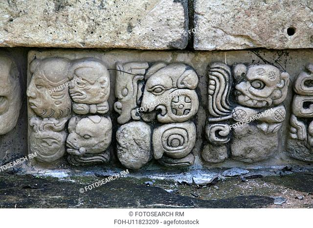 america, mayan, latin, copan, ruins, honduras