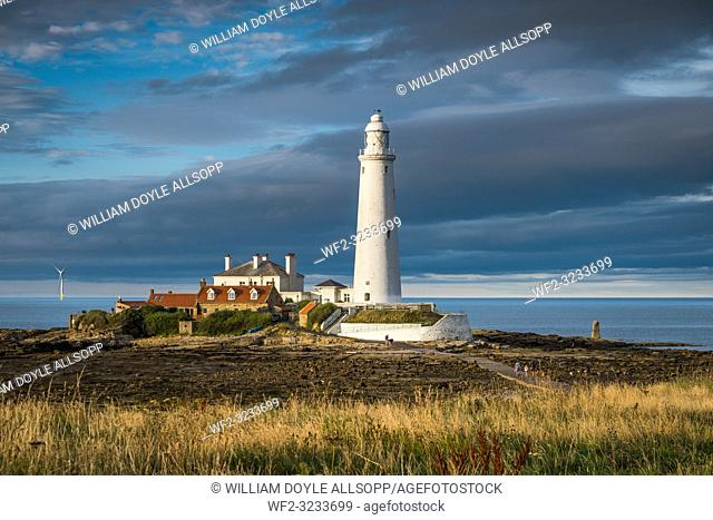 St. Marys lighthouse at Whitley Bay
