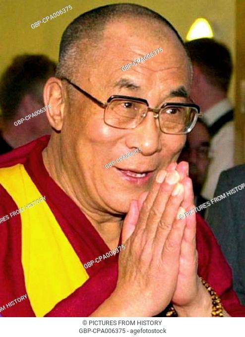 China / Tibet / India: The 14th Dalai Lama, Tenzin Gyatso (1935- )