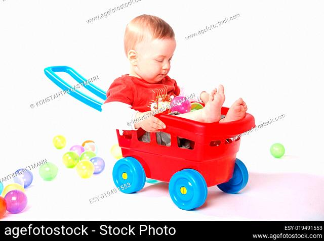 spielendes Baby