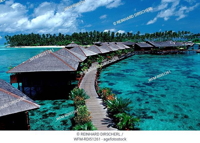 Sipadan Water Village Mabul, Borneo Sabah Mabul, Malaysia