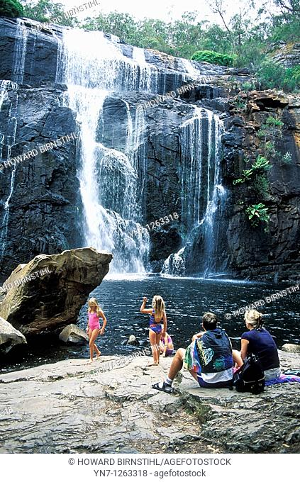 Mackenzie Falls in Victoria Australia