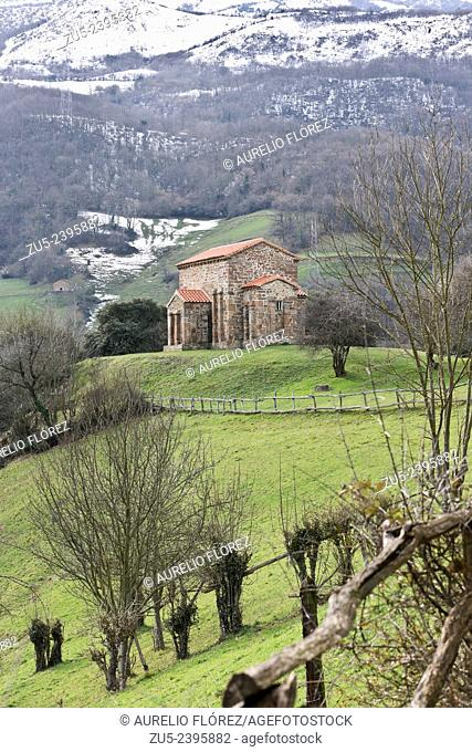 Santa Cristina de Lena is an Asturian pre-Romanesque church, built in the middle of the ninth century and located in the municipality of Lena