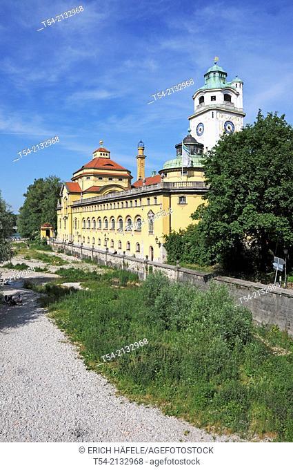 The Muffathalle in Munich