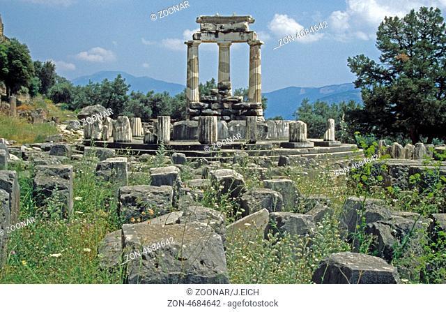 Griechenland - Delphi - Orakel (Tholos der Marmaria)