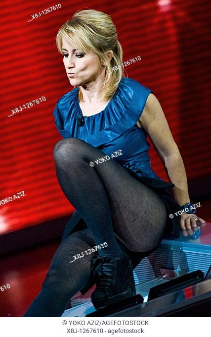 28 11 2010, Milan, 'Che tempo che fa' Telecast RAI 3  Luciana Littizzetto