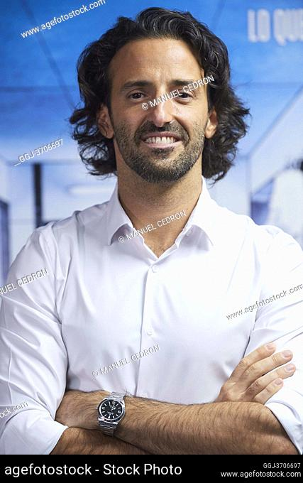 Matias Dumont attends '2020' Documental Movie Exclusive Premiere at Wizink Center on November 26, 2020 in Madrid, Spain