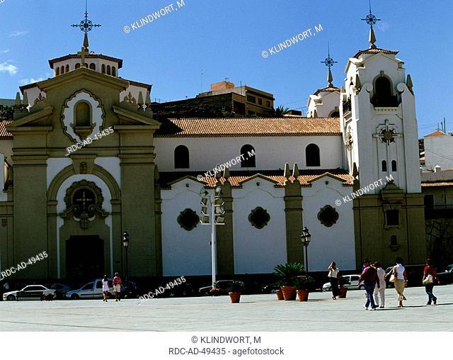 Church Basilica de Nuestra Senora Candelaria Tenerife Canary Islands Spain