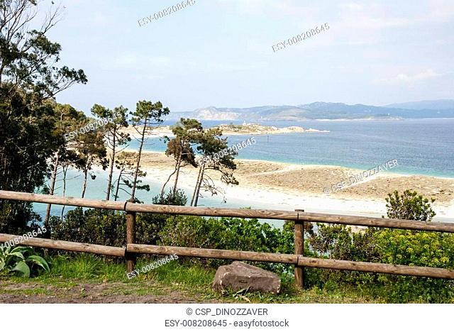 Cies islands natural park, Galicia