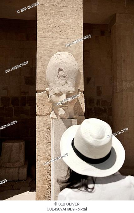 Statues at the Mortuary Temple of Queen Hatshepsut, Egypt