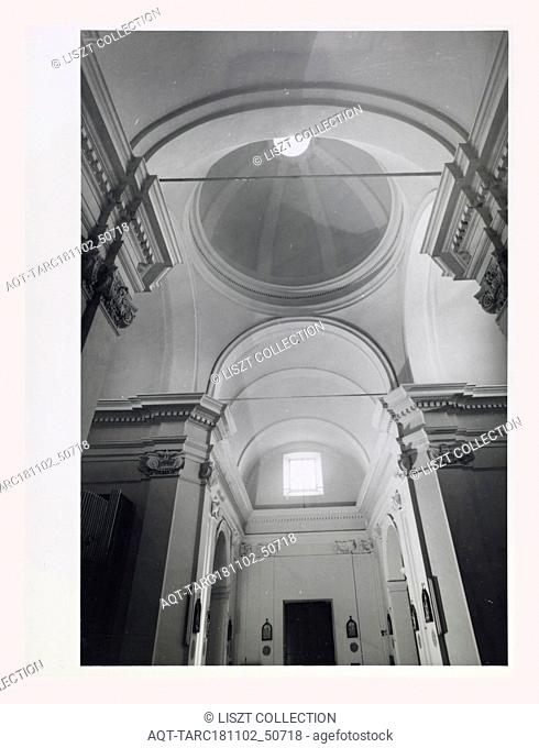 Lazio Viterbo Bassano Romano S. Vincenzo, Parish church, this is my Italy, the italian country of visual history, Exterior photos of church facade with details