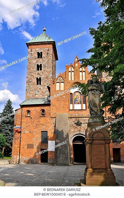 Basilica of Our Lady of Consolation in Czerwinsk over Vistula, Masovian Voivodeship, Poland