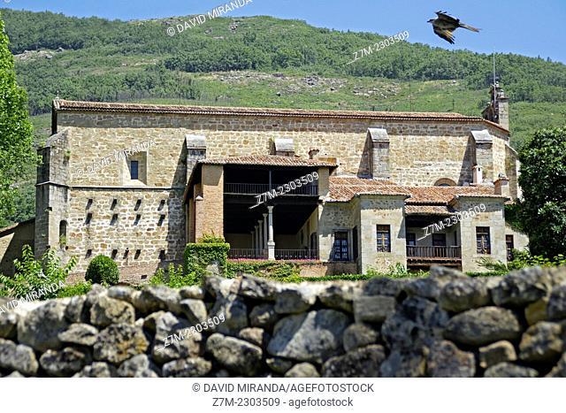 Monastery of Yuste in Cáceres, Extremadura, Spain