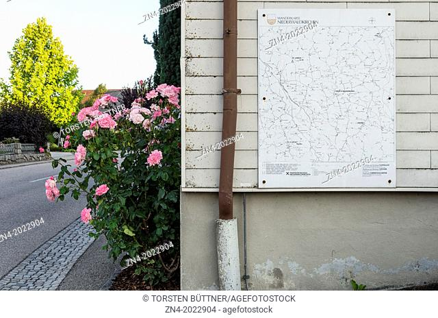Roadmap on Municipal Office. St. Ulrich im Mühlkreis. Upper Austria. Austria