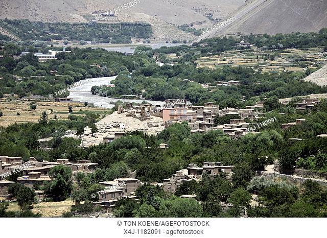 panshir valley in Afghanistan