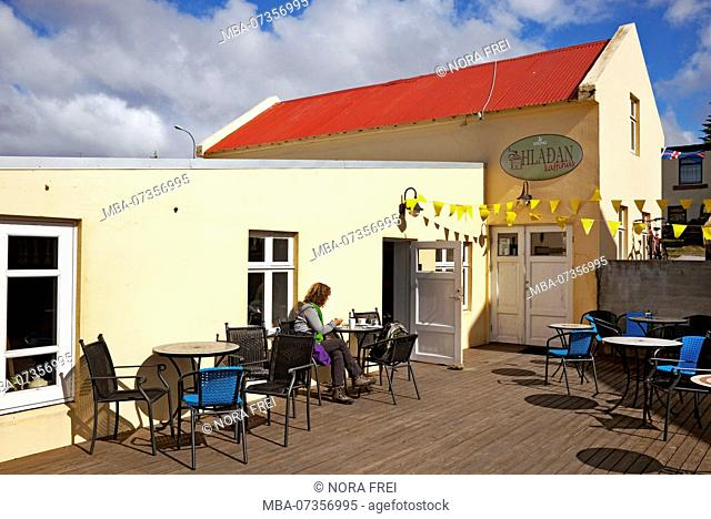 Coffee house, house, Iceland, Hvammstangi