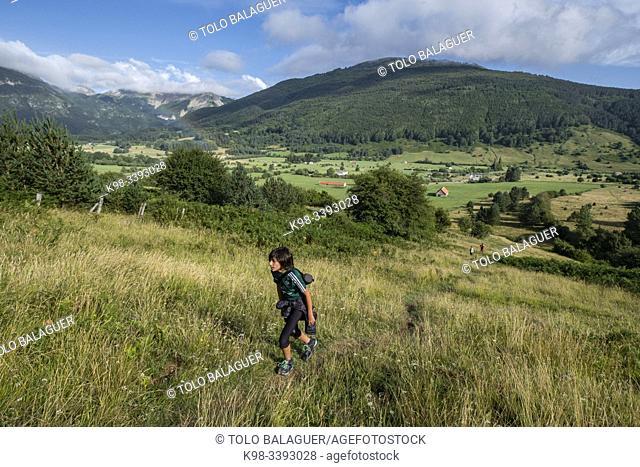 valle de Belagua, Isaba, Navarra, Spain, Europe