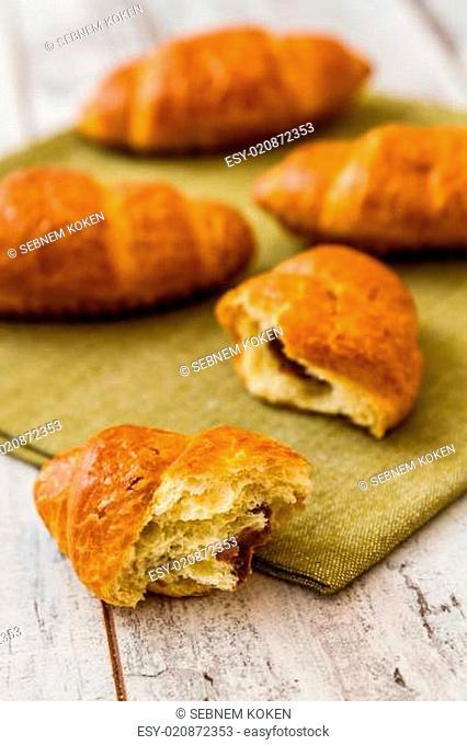 Crispy Fresh Croissants