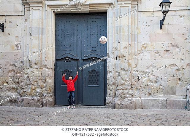 La Iglesia de Sant Felip Neri, Barcelona, Spain