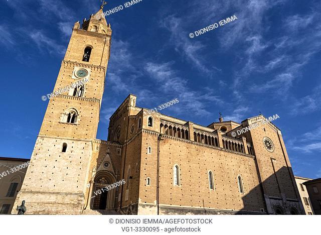 Chieti, Abruzzo, Italy, Europe, Cathedral of San Giustino