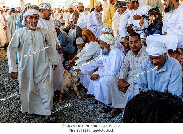 The Friday Livestock Market, Nizwa, Ad Dakhiliyah Region, Oman