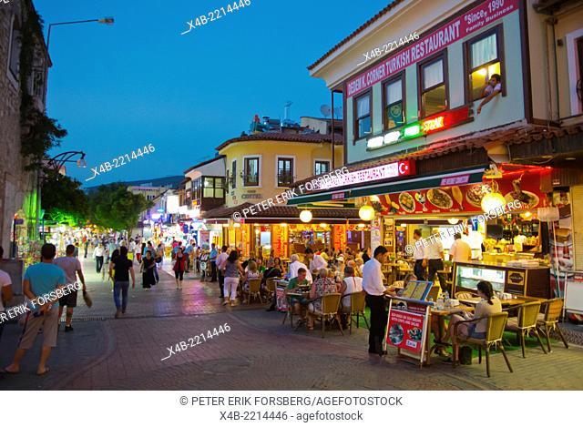Restaurants, Kusadasi, Turkey, Asia Minor