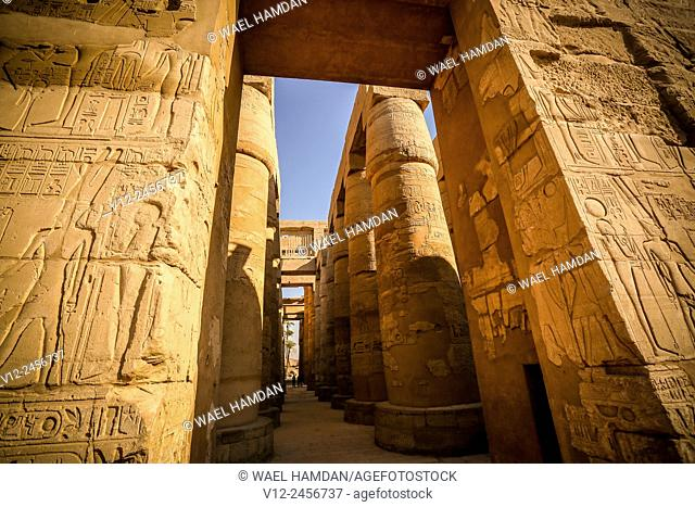 Karnak temple, Luxor city, Egypt