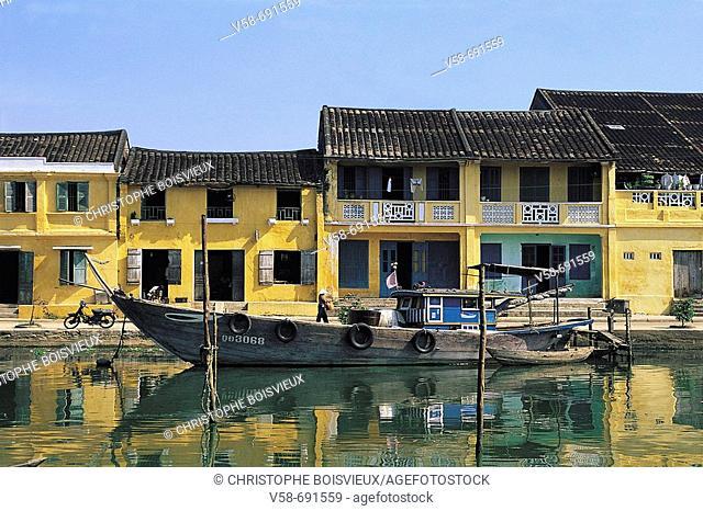 Hoi an harbour, danang region, Vietnam