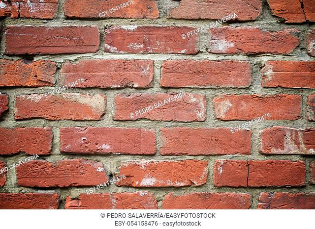 Brick wall detail in London