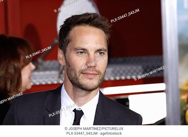 """Taylor Kitsch at the Premiere of Columbia Pictures' """"""""Only The Brave"""""""" held at the Regency Village Theatre in Westwood, CA, October 8, 2017"""