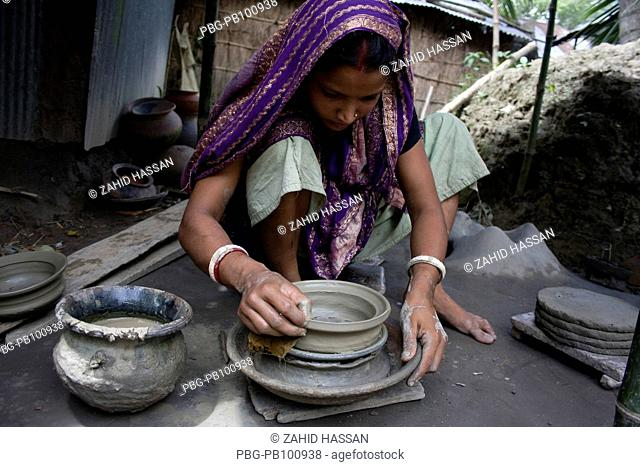 Like many other trade of traditional handicrafts, pottery is also facing near extinction in Bangladesh A profession mainly belonging to the people of Hindu...