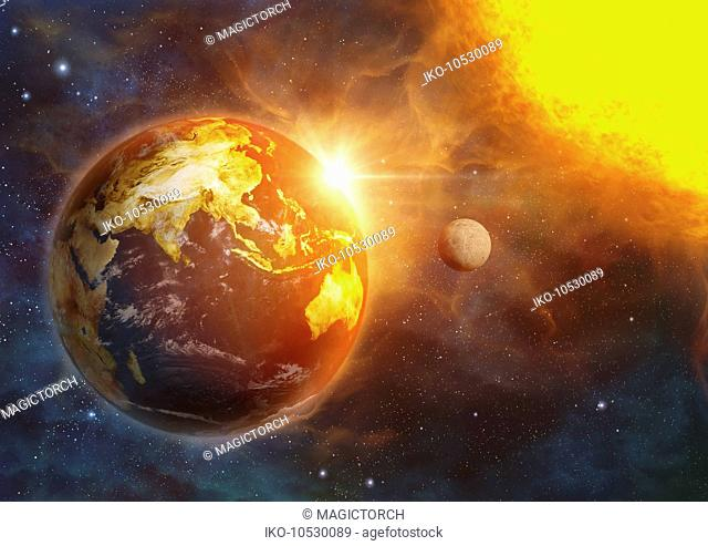 Planet earth and global warming